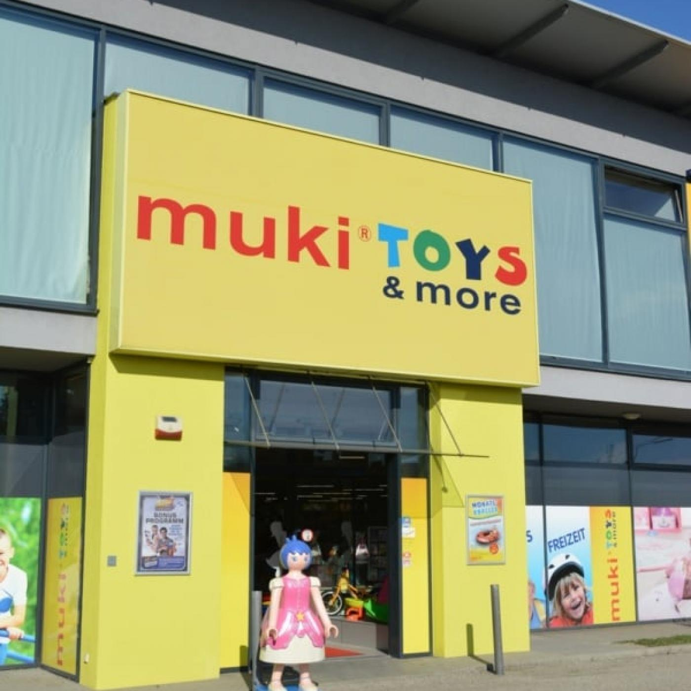 muki TOYS and more Filiale.