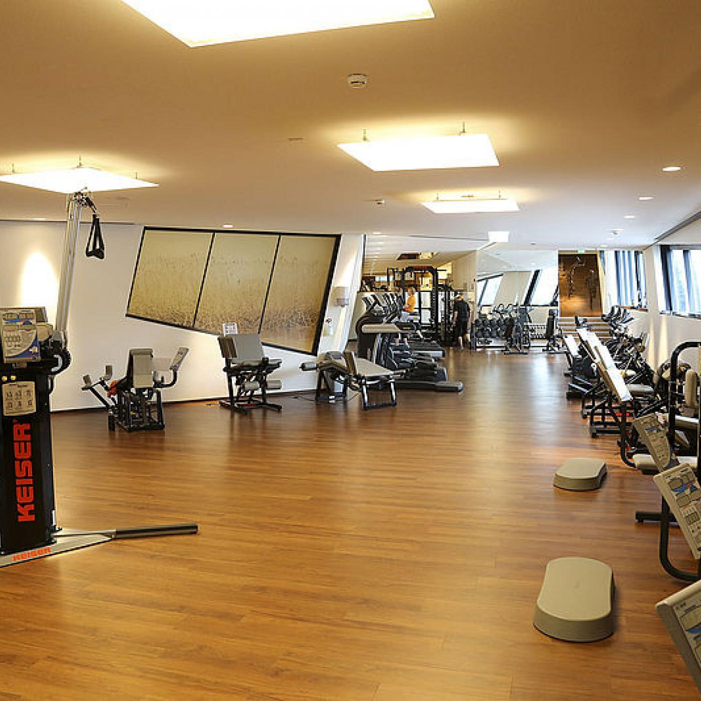 Fitnessstudio in der Kärnten Therme.